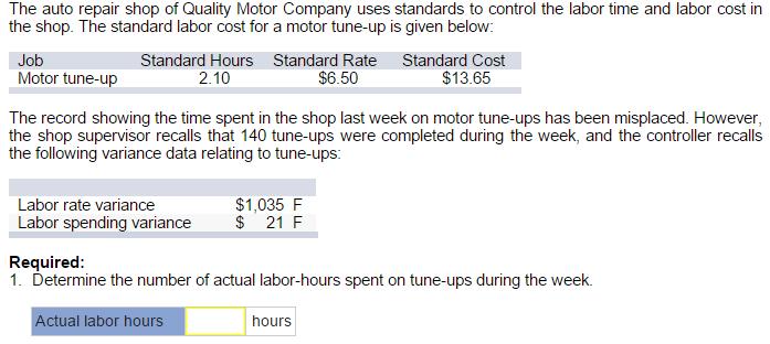 auto repair labor time guide