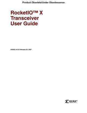 virtex 7 transceiver user guide