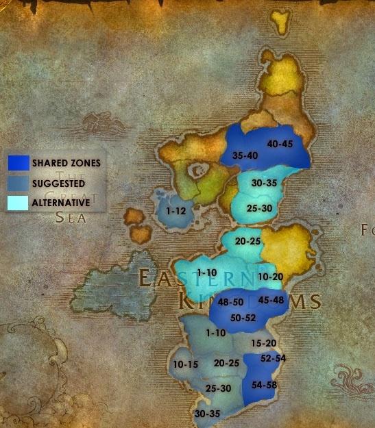horde leveling guide 3.3 5
