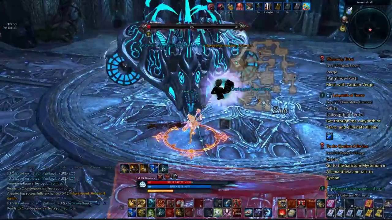 labyrinth of terror tera guide
