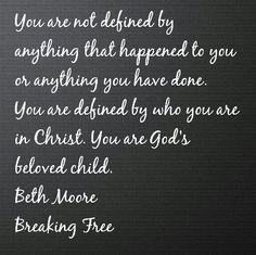 breaking free beth moore study guide