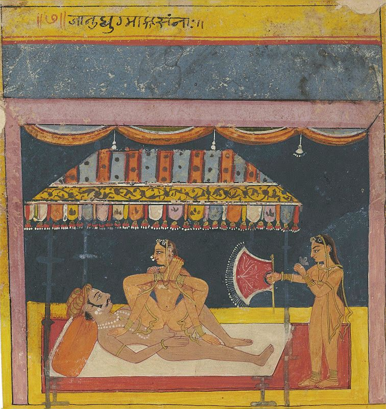 the guide to sex positions of the kama sutra