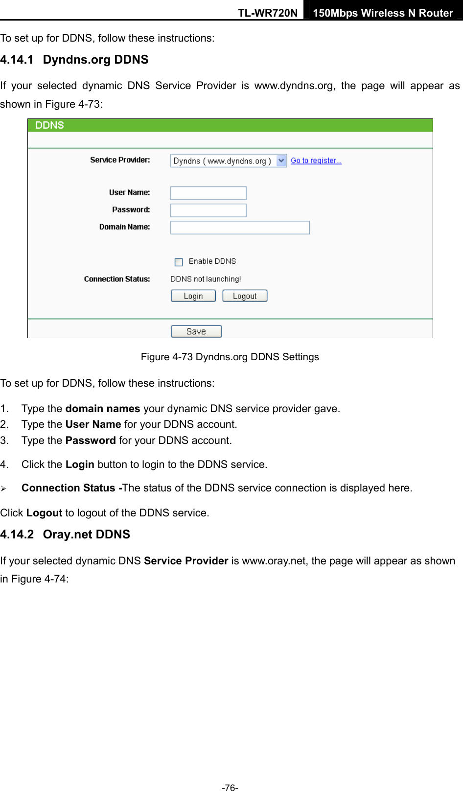tp link router user guide