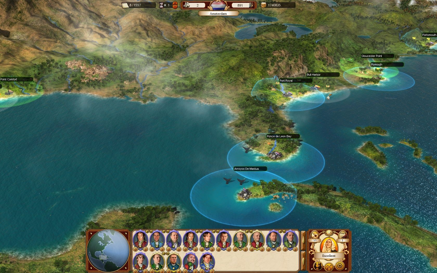 commander conquest of the americas guide