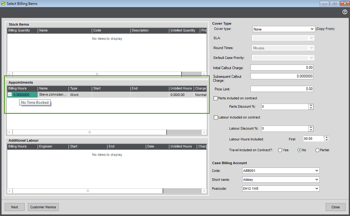 technisoft service manager user guide