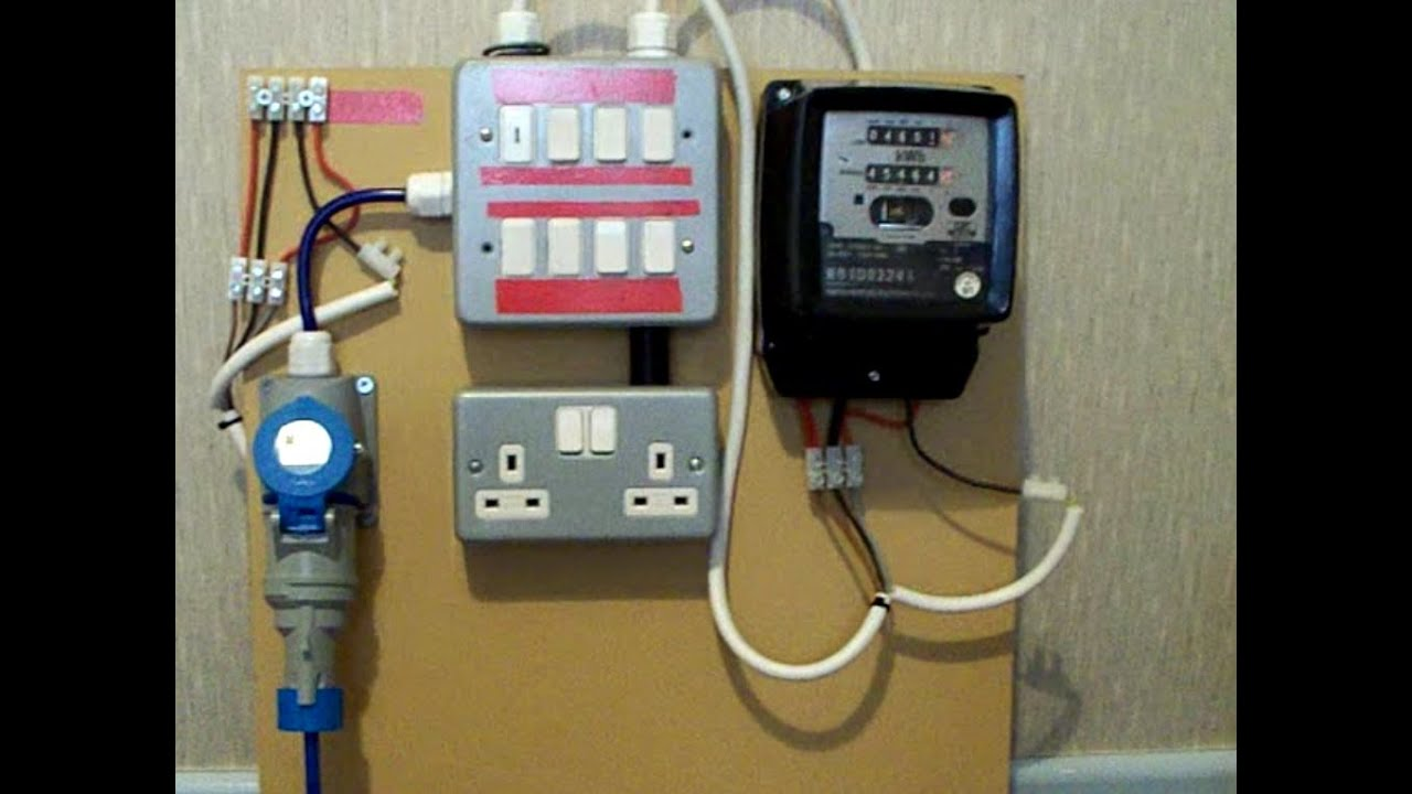 electric meter box installation guide