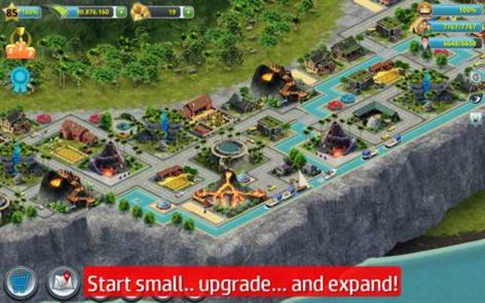 paradise city island sim guide