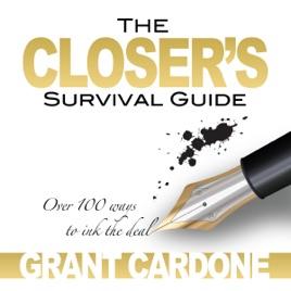 grant cardone closers survival guide audio