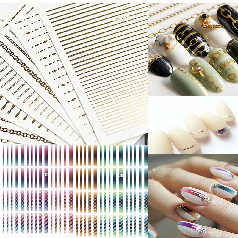 diy nail tip guide strips