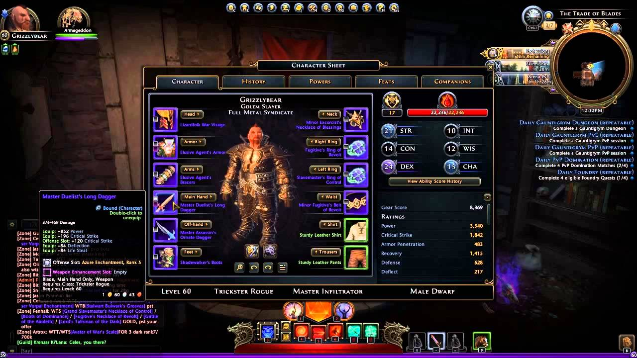 neverwinter control wizard leveling guide