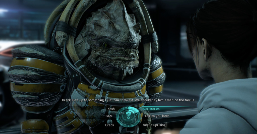 mass effect 2 dialogue guide