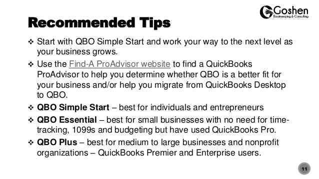 quickbooks online getting started guide