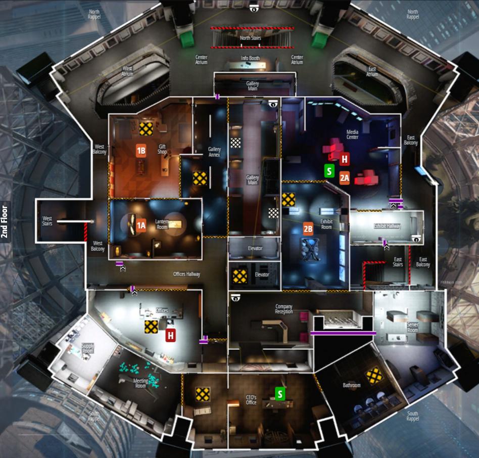 rainbow six siege map guide