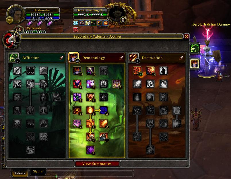 warlock pvp guide 3.3 5